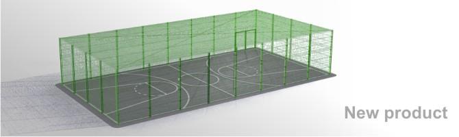Terrains multi-sports couverts