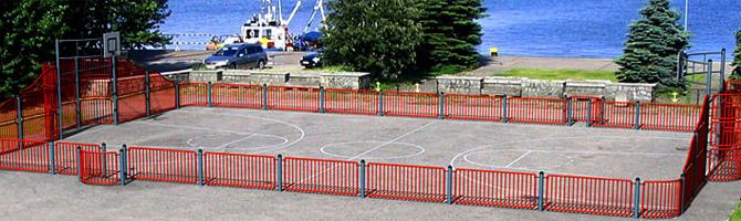 Terrains multi-sports
